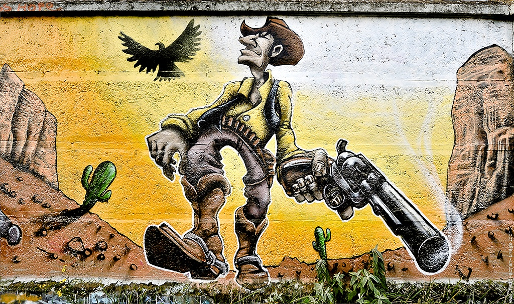 Cow Boy graffiti | Graffiti