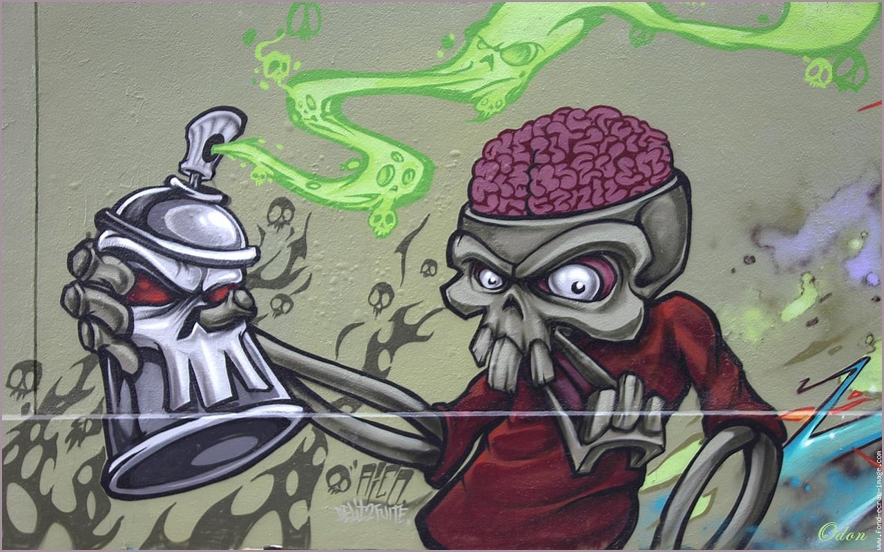 Zombie graffiti  Graffiti