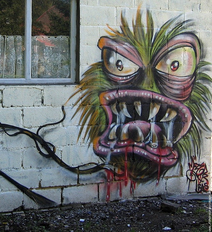 Monster graffiti  Graffiti