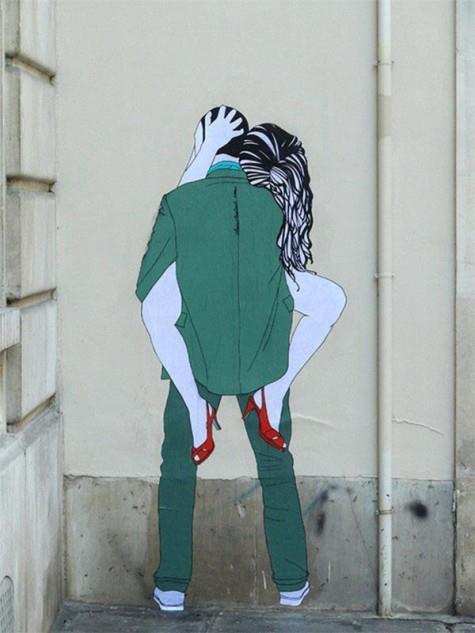 Sex graffiti